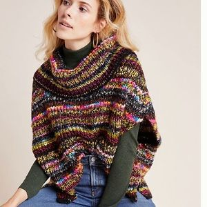 NEW 🎉HP🎉Anthro-Knit Poncho